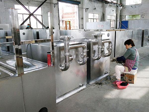 制作居民用1000人地埋式下水道油水分离器