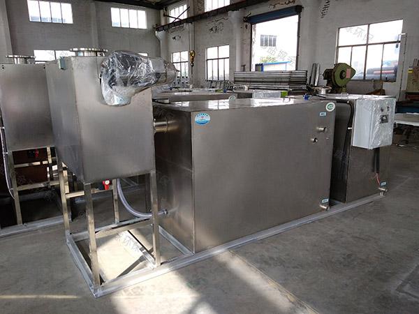 购买家庭100人分体式排污油水分离器