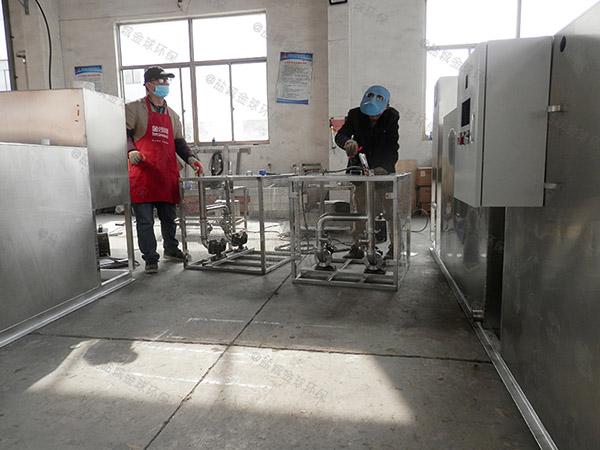 提供火锅店新泔水一体化油水分离装置