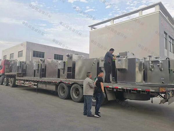 提供商场餐饮1000人密闭式排水隔油器