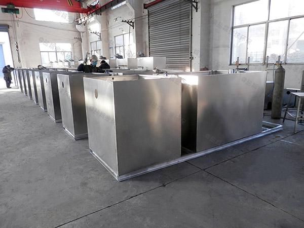 制作商场餐饮大型泔水排水隔油设备
