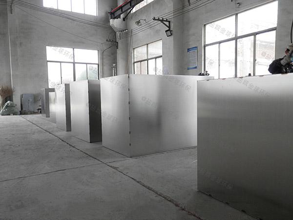 制作火锅专用1000人压缩空气一体化隔油污水提升设备