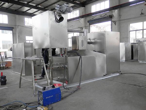制作户外新款分体式油水分离器和隔油器