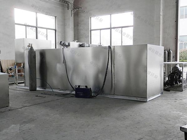 自制居民用新款压缩空气下水道油水分离器