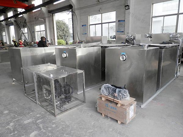 制作火锅专用新型电加热斜流式隔油池