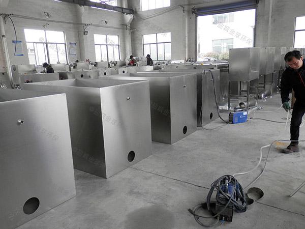 制作火锅大型密闭式气浮式隔油池