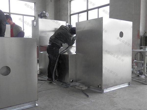 做商场餐饮中小型地埋气浮式隔油设备