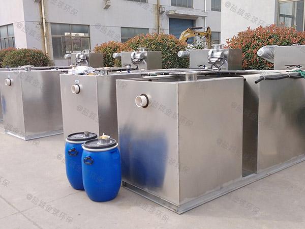 提供家用100人泔脚污水隔油设备