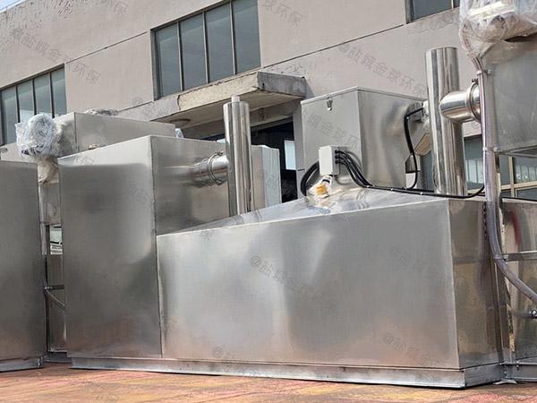 自制火锅环保地埋一体化隔油器