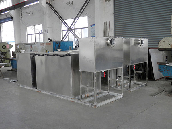 自制居民用100人压缩空气油水分离器与隔油池