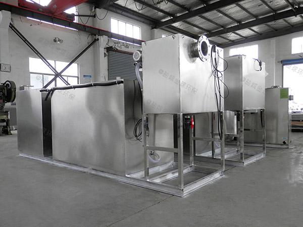 做居民用小型斜板一体化隔油污水提升设备