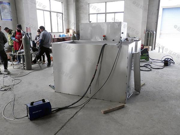 制作火锅大型压缩空气污水隔油设备