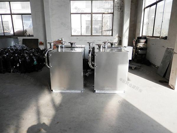 制作家庭中小型地埋式水油分离装置
