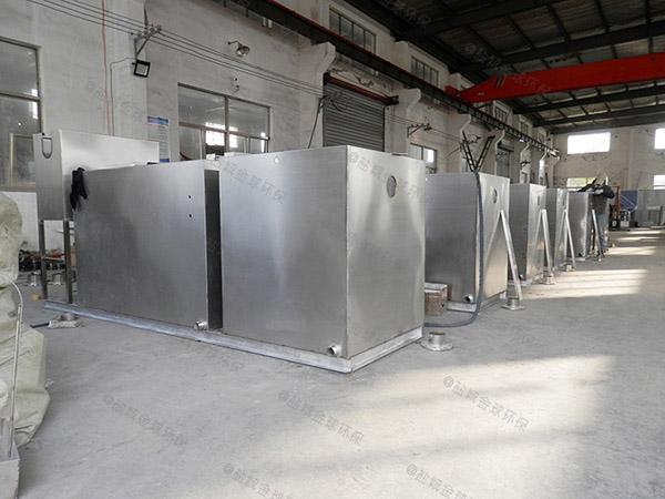 制作火锅新型分体式水处理油水分离器