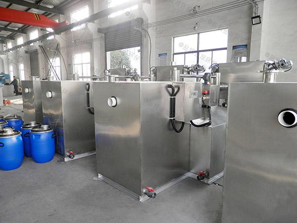 自制户外500人分体式强排油水分离器