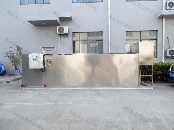专业火锅店新地埋油水分离隔油池