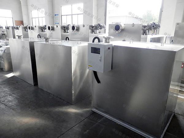 自制户外小型压缩空气一体化隔油池