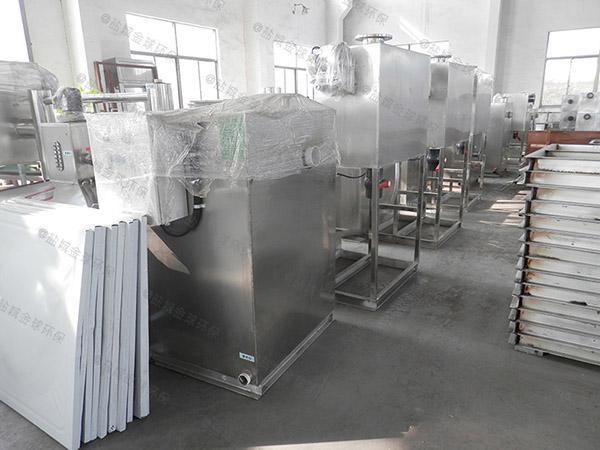 购买火锅专用新款压缩空气一体化隔油处理设备