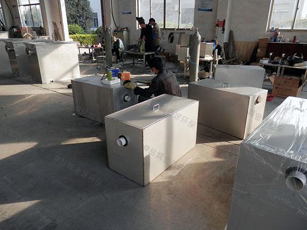 制作居民用大型泔水油水过滤器