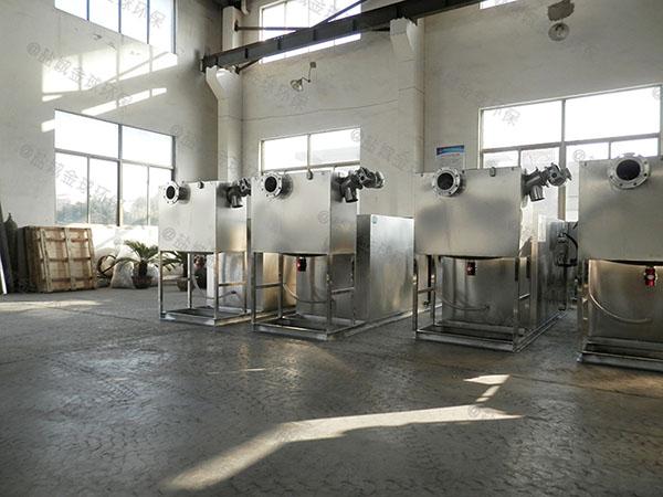 自己做商场500人地面油水分离器与隔油池