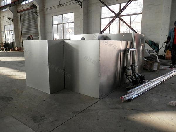 专业火锅店小型密闭式气浮式自动隔油器