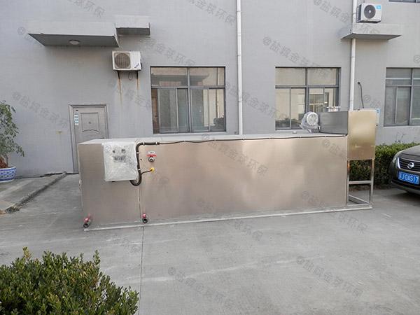 制作火锅店新型地埋式污水处理油水分离设备