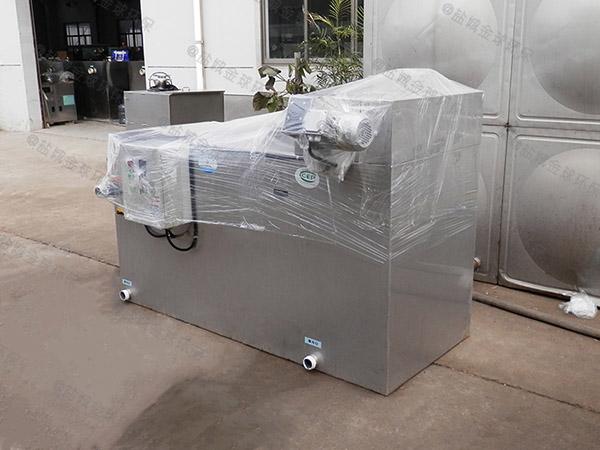 做家用新型泔脚排水隔油器