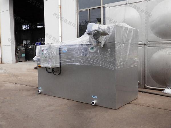 安装火锅新地面一体化隔油池处理设备