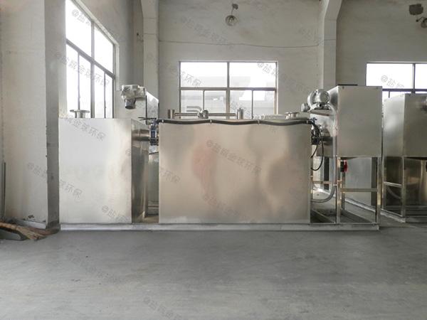 自制居民用中小型地埋油水分离处理装备