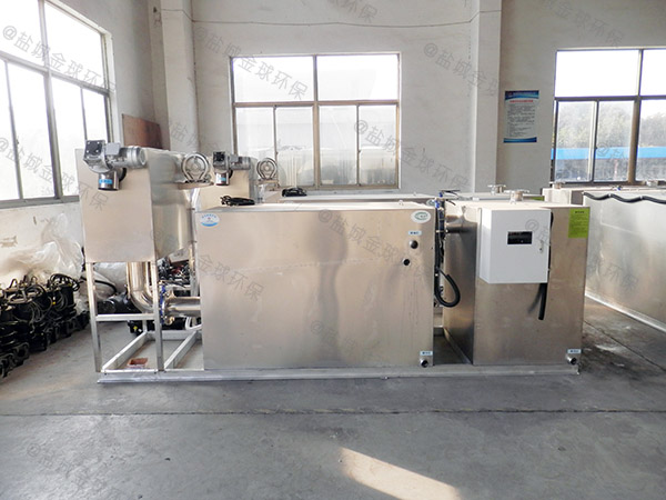 制作家庭1000人分体式油水分离污水处理设备