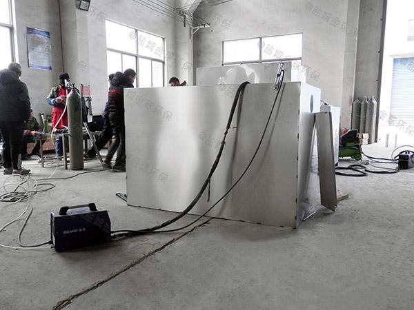 做火锅专用500人泔水油水分离处理机器