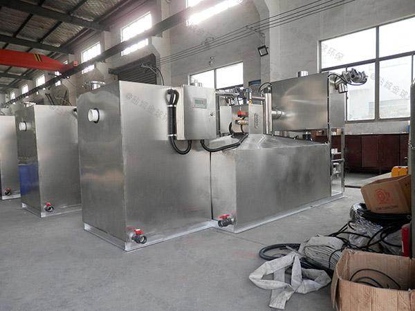 专业火锅专用新泔水油水固三相分离器