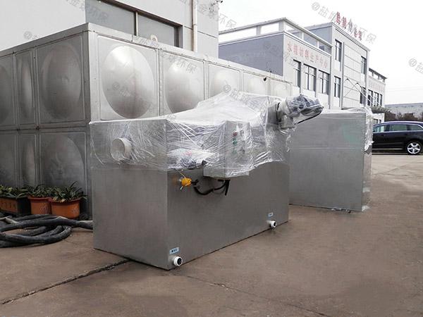做火锅专用新型压缩空气三段式隔油池