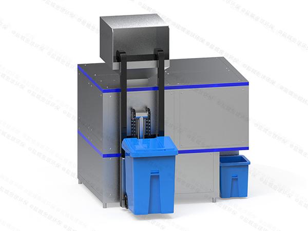 大小型自动上料餐厨垃圾油水分离设备结构