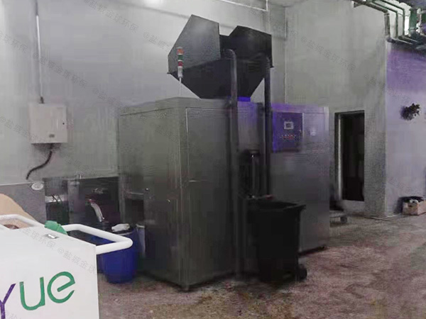 日处理5吨智能餐厨垃圾处理机处理方式