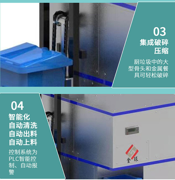20吨智能餐饮垃圾减量处理设备厂家