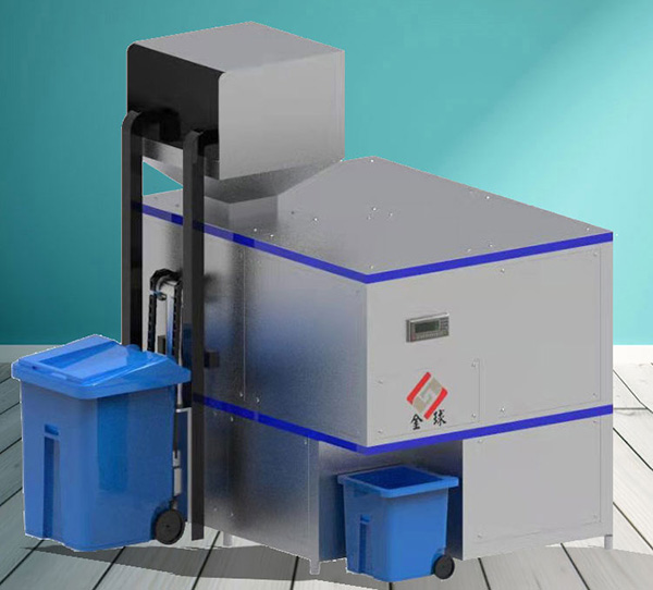 10吨智能化餐厨垃圾脱水机原理图