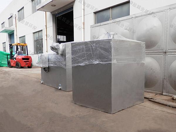 负一楼切割型污水提升器设备为什么原装进口好