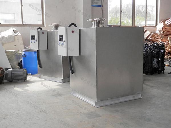 大型会馆地下室生活污水提升装置排污管是多少