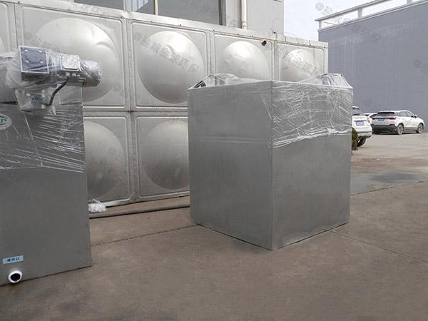 大型会馆地下室外置污水提升处理器安装案例