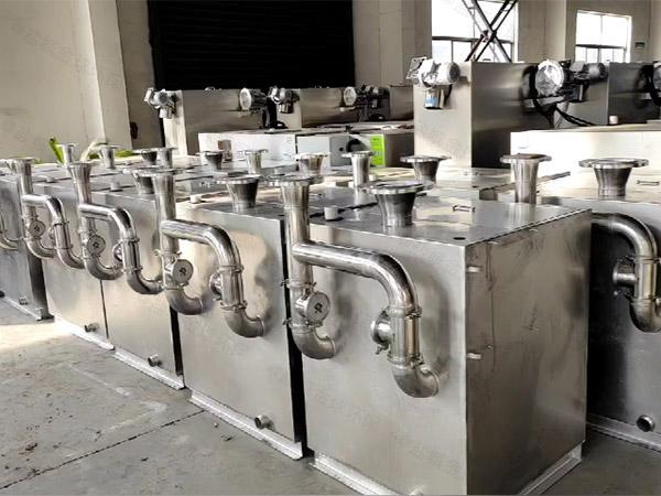 庭院电动污水排放提升设备安装案例